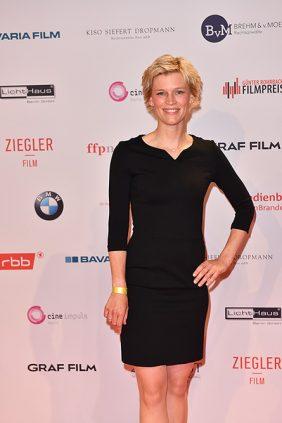 Verena Fels roten Teppich Emmy Awards Berlin
