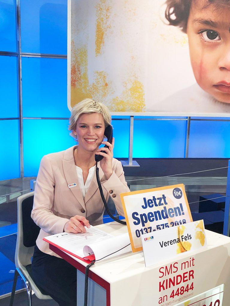 Verena Fels Spendenmarathon-RTL