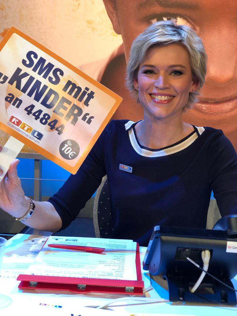 Verena Fels RTL-Spendenmarathon